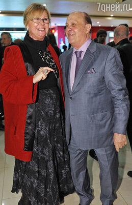 Наталья Селезнева и Владимир Меньшов