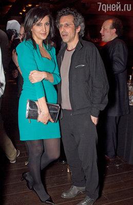 Екатерина Мцитуридзе и Виктор Гинзбург