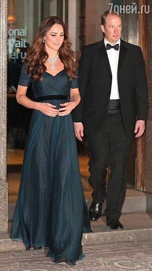 Кейт Миддлтон посетила гала-ужин в Национальной портретной галерее в Лондоне