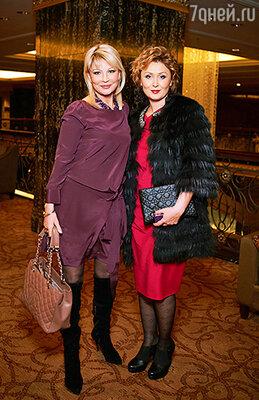 Татьяна Веденеева и Елена Ищеева
