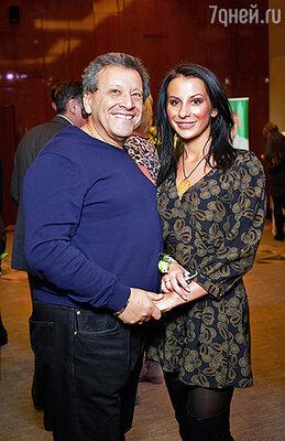 Борис Грачесвкий с женой Анной