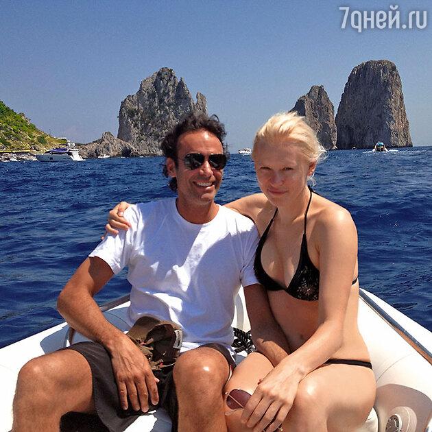 Анна Щербинина  и Антони Делон