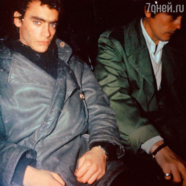 Ален Делон и Энтони Делон. 1983 г.