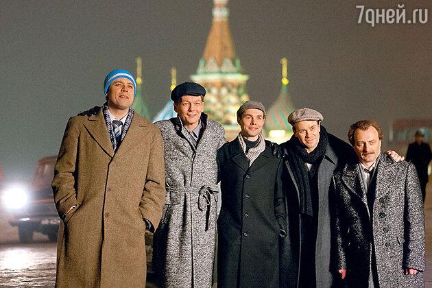 Александр Ильин, Филипп Янковский,Евгений Павлов, Евгений Павлов, Александр Морозов, Алексей Агопьян
