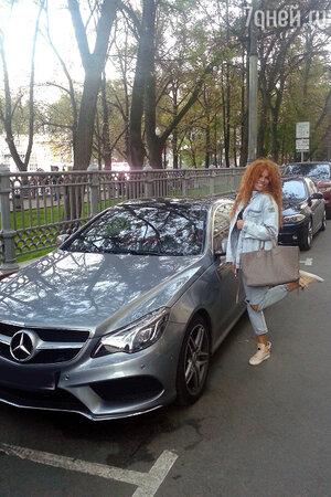 Анастасия Стоцкая , автомобиль