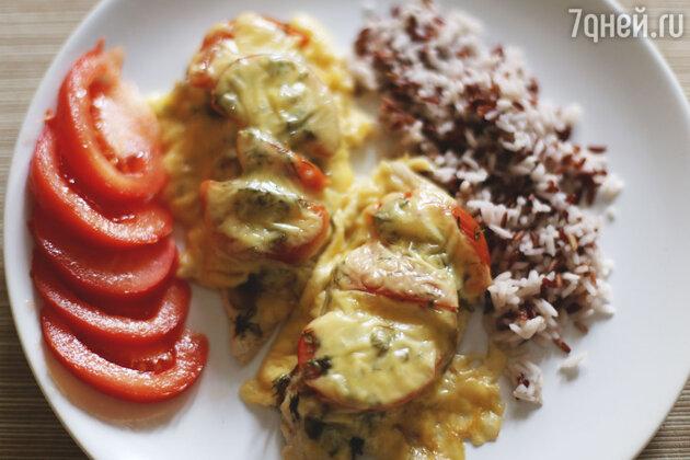 Курица по-французски с грибами: пошаговый фоторецепт