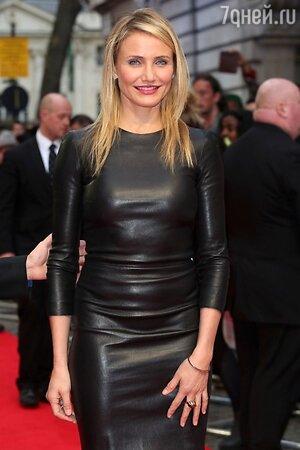 Камерон Диаз в платье от The Row на премьере фильма «Другая женщина»