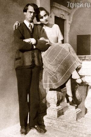Владислав Ходасевич с Ниной Берберовой