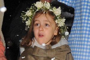 Baby Dior создал детские наряды для венчания Казираги