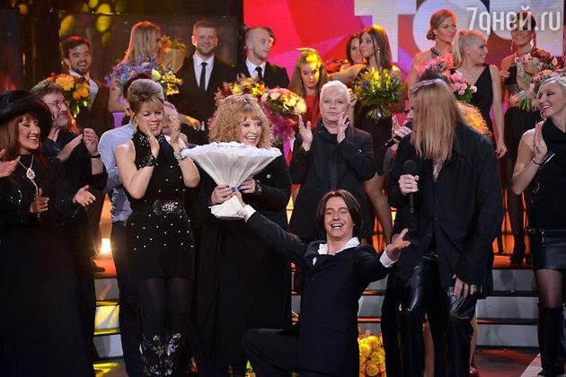 Участники шоу «Точь-в-точь» поздравили Аллу Пугачеву с днем рождения