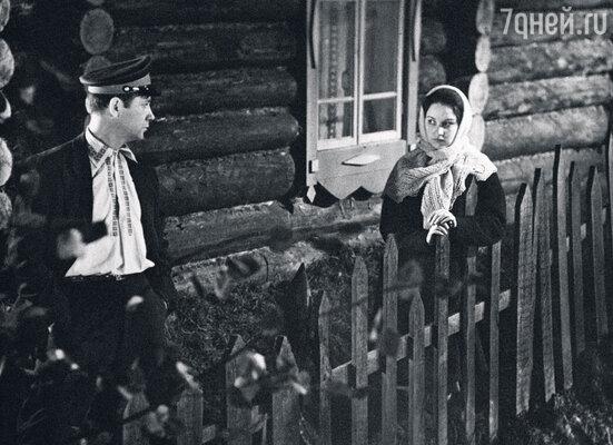 «Под конец наших отношений Шукшин снял меня в своем фильме «Живет такой парень». 1964 г.