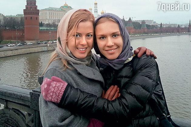 Старшие дочери Владислава Паулюса Маша и Лиза