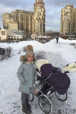 Дочь Ксении Бородиной Маруся