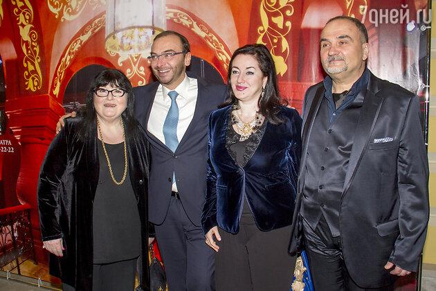 Маквала Касрашвили, Дмитрий Бертман, Тамара Гвердцители, Борис Беленький