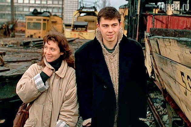 Светлана Письмиченко и Сергей Бодров-младший