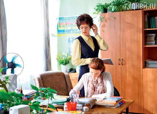 Героиня Ирины Розановой воспитывает не только учеников, но и учителей