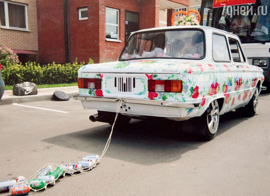 Тот самый свадебный «лимузин»