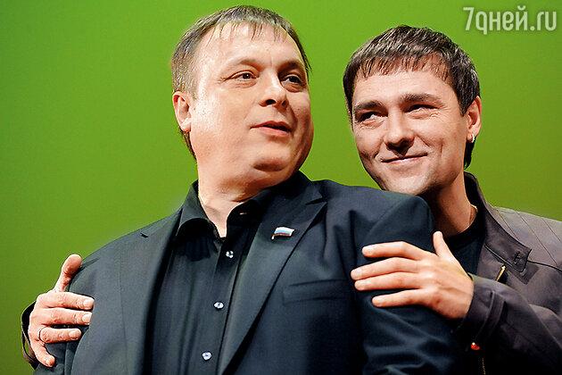 Андрей Разин и Юрий Шатунов