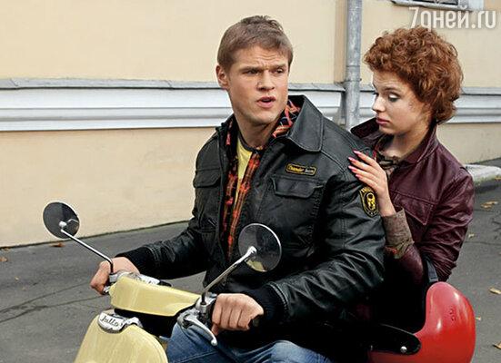 В сериале «Любовь — не то, что кажется» мы играли вместе с Владимиром Яглычем. Недавно одна «желтая» газета написала, что я увела его у жены — Светланы Ходченковой