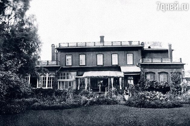 Дом Евгения Евгеньевича Арманда в Пушкино