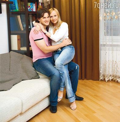 С мужем Вадимом Хомицким