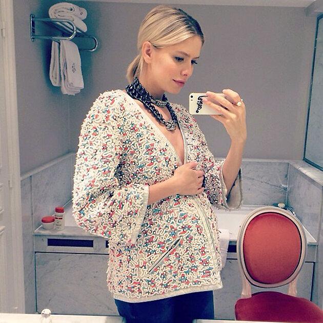 Елена Перминова на Неделе высокой моды в Париже