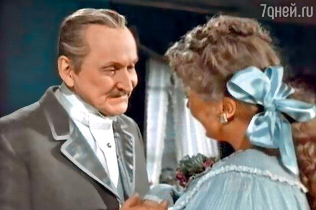 Алла Ларионова с Александром Вертинским вфильме «Анна нашее». 1954 г.
