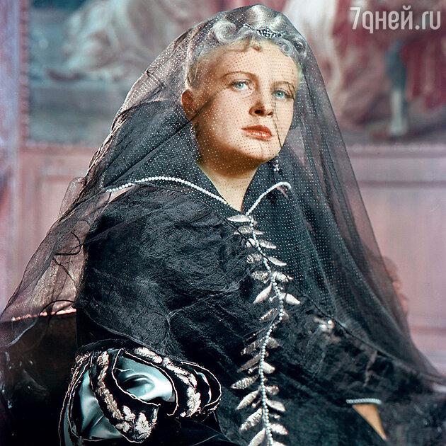 Алла Ларионова в фильме «Двенадцатая ночь». 1955 г.