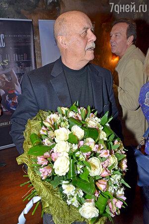 Станислав Говорухин на дне рождения Никаса Сафронова