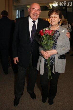 Михаил Швыдкой с супругой Мариной