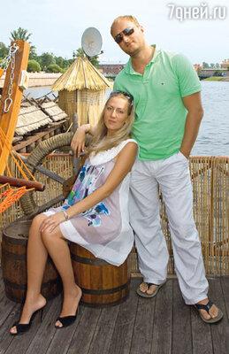 Андрей с женой Анной