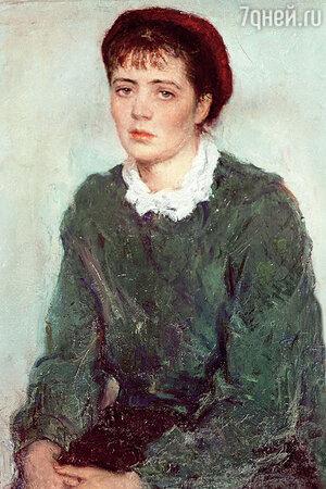Портрет жены, Нины Виноградовой-Бенуа