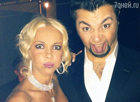 Лера Кудрявцева и Алексей Чумаков