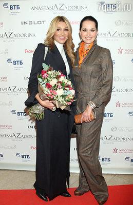 Анжелика Агурбаш и Ольга Кабо