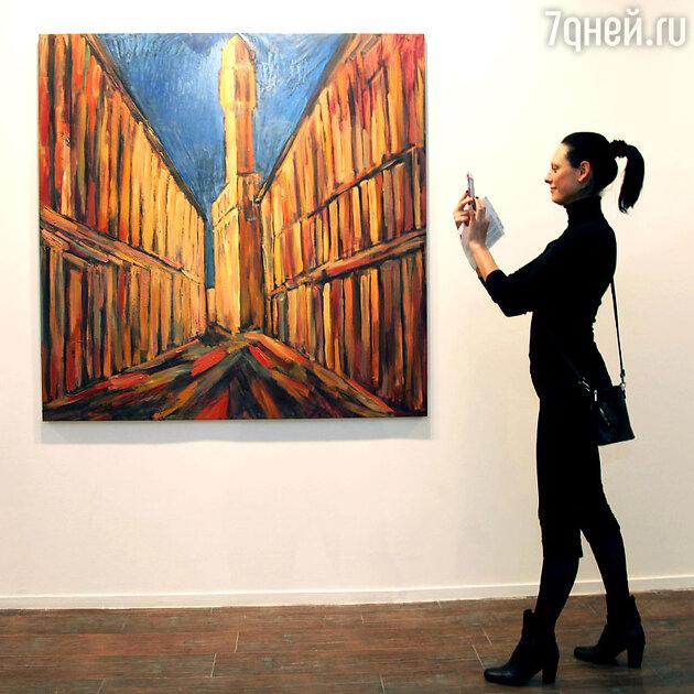 На выставке Димитрия Семакова