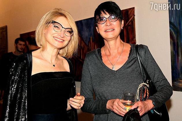 Эвелина Хромченко и Ирина Хакамада