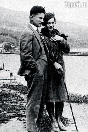 Клавдия Шульженко и Владимир Коралли