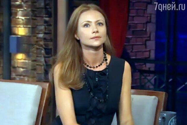 Мария Миронова на шоу «Вечерний Ургант»