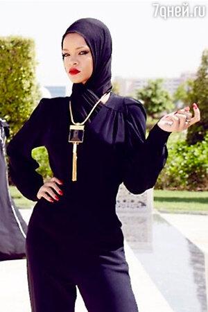Скандальная фотосессия Рианны в мечети