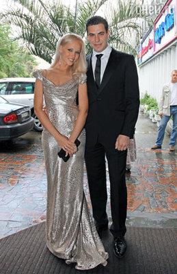 Дмитрий Дюжев с женой Татьяной