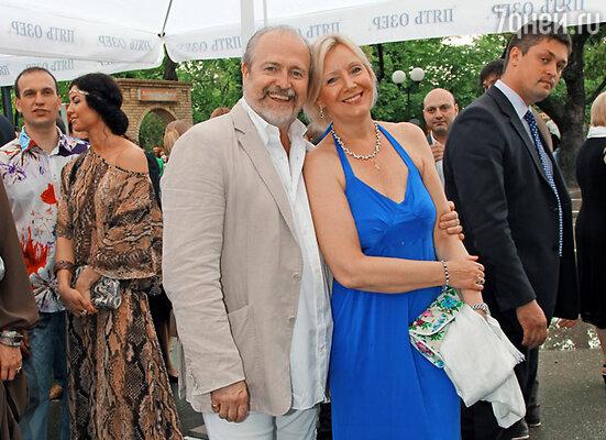 Владимир Хотиненко с женой Татьяной