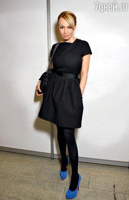 На Неделе моды в Гостином Дворе. 2011 г.