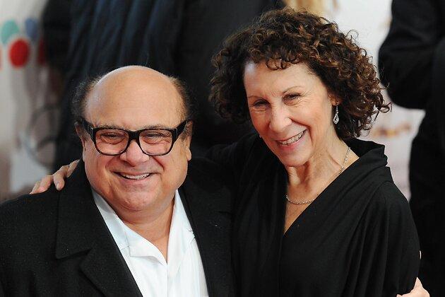 Дэнни Де Вито с супругой