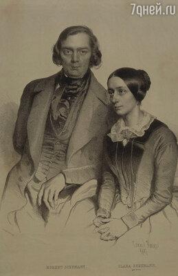 Сказка Клары и Шумана очень скоро закончилась, хотя супруги долгое время сохраняли видимость семейной гармонии