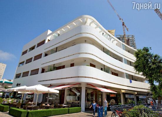 В одном из баухаузов Тель-Авива разместился современный отель