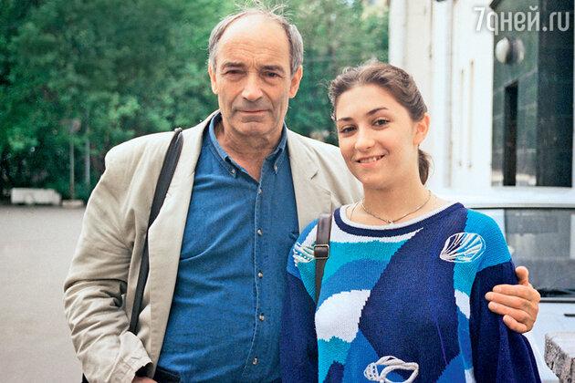 Валентин Гафт с дочерью Ольгой