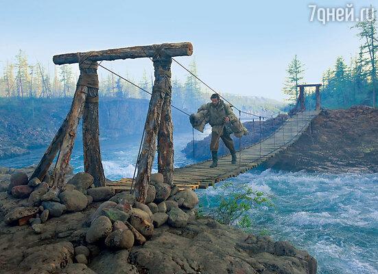На долю героя Григория Добрыгина выпало больше всего испытаний: он нырял в ледяные воды реки Муксун, бегал обнаженным по заснеженной тундре...