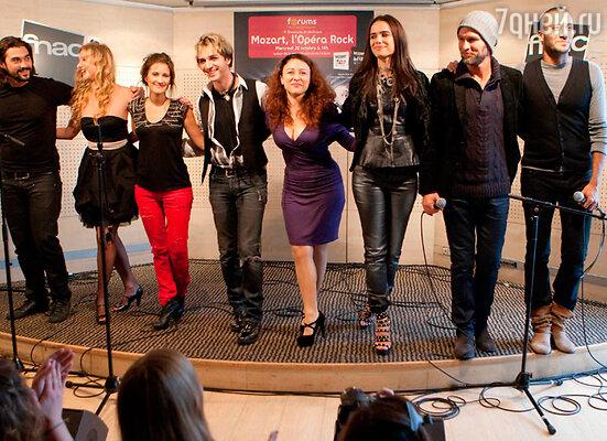 8 октября в Москве на сцене Государственного Кремлевского дворца известные европейские исполнители представят популярную все всем мире рок-оперу «Моцарт»
