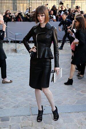 Коко Роша на показе Christian Dior