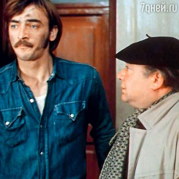 Евгений Леонов  и Михаил Боярский